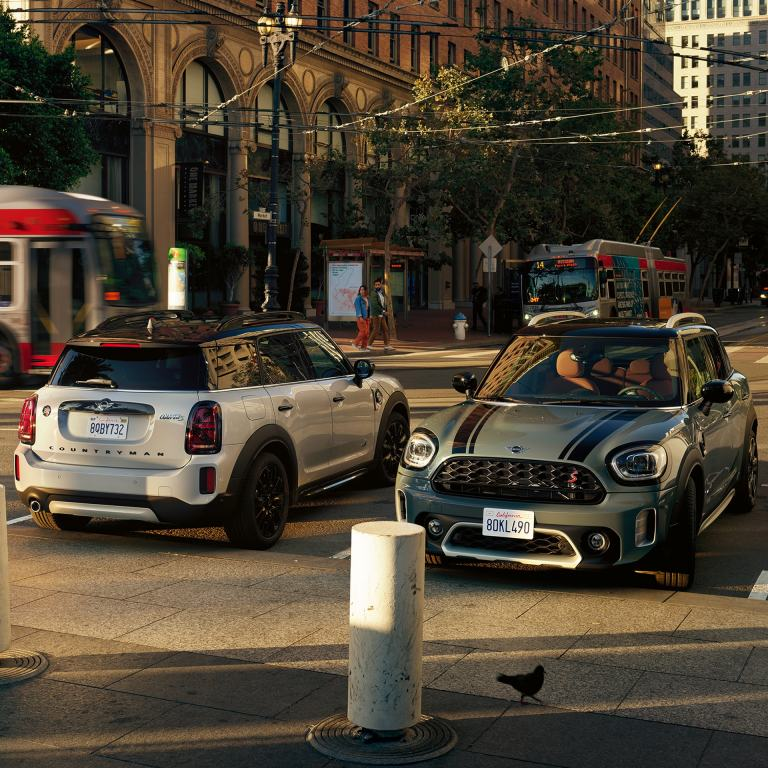 Novi MINI COUNTRYMAN – MINI COOPER SE COUNTRYMAN ALL4 – pogled sprijeda